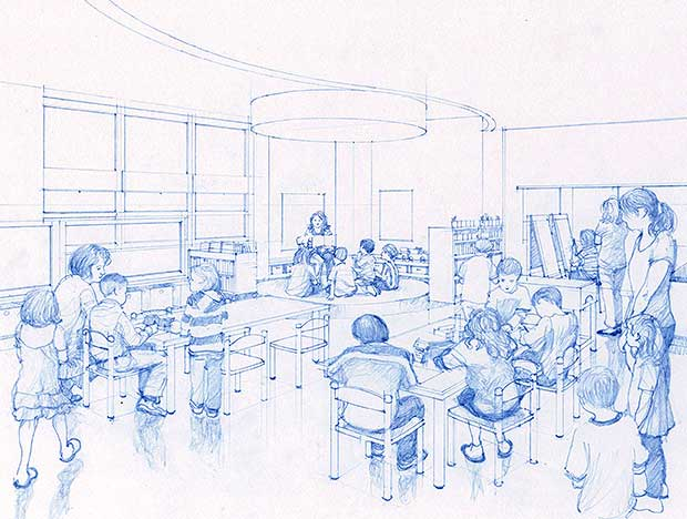 Classroom Design Sketch : Sketch a room online home interior design